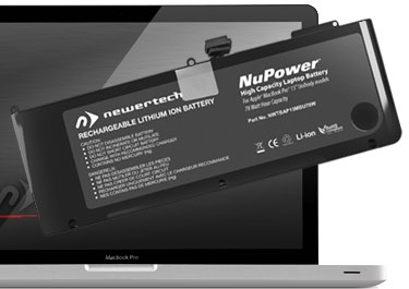 NewerTech Battery for MacBook Pro 15in Unibody 2011/2012 with Tools