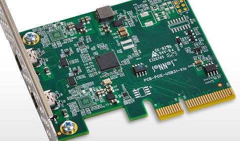 Sonnet Allegro USB-C PCIe Card 2 port