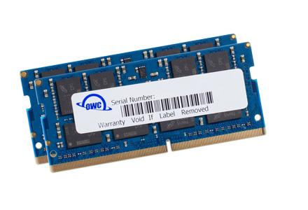 OWC DDR4 PC21300 2666MHz SODIMM - 64GB (2 x 32GB)