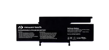 INSTALL AND PART - NewerTech NuPower Battery replacement for MacBook Pro Retina 13in Late 2013 - Early 2015