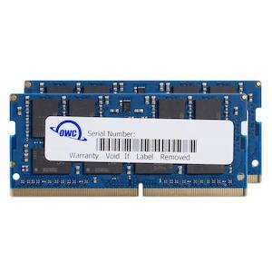 OWC DDR4 PC19200 2400MHz SODIMM - 64GB Kit (2 x 32GB)