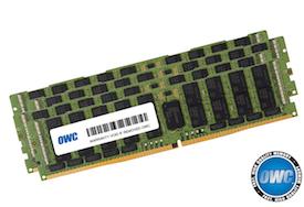 OWC 256GB (4 x 64GB) DDR4 2933MHz PC23400 ECC RDIMM for Mac Pro 2019