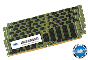 OWC 384GB (6 x 64GB) DDR4 2933MHz PC23400 ECC RDIMM for Mac Pro 2019
