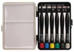Screwdriver Set - 20mm Phillips #00, #0, #1 - Flat 1.4mm, 1.8mm, 2.4mm
