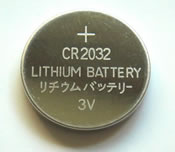 3V Coin Cell Lithium PRAM/Clock Battery