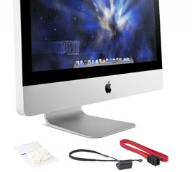 OWC Mount & Cables for extra SSD for iMac 2011 21.5in