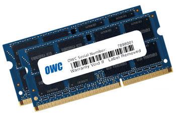 OWC DDR3 PC12800 SODIMM - 16GB Kit (2 x 8GB)