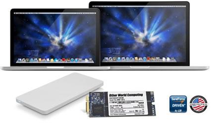 OWC 500GB Aura Pro for MacBook Pro Retina L12/E13 (with Tools & Enclosure)