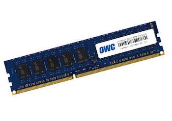 OWC DDR3 1333MHz PC10600 ECC DIMM 4GB Module w/ thermal sensors for Mac Pro