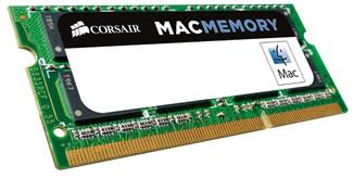 Corsair DDR3 PC8500 SODIMM - 4GB