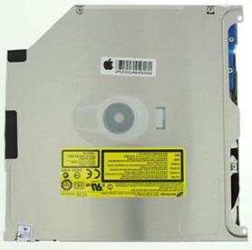 Internal SATA DVD-RW 9.5mm for most unibody MacBook Pros and MacBooks