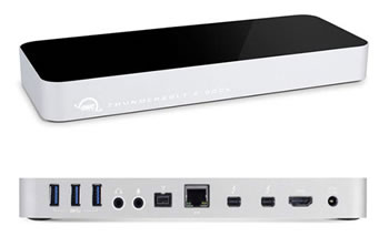 OWC Thunderbolt 2 Dock - Thunderbolt to Firewire 800, USB 3.0 ...