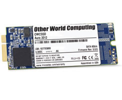 OWC Aura 6G PCIe Attached SSD for iMac Late 2012 - 480GB