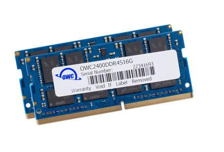 OWC DDR4 PC19200 2400MHz SODIMM - 32GB Kit (2 x 16GB)