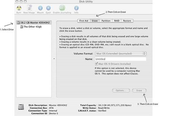 Mac Hard Drive Setup Guide
